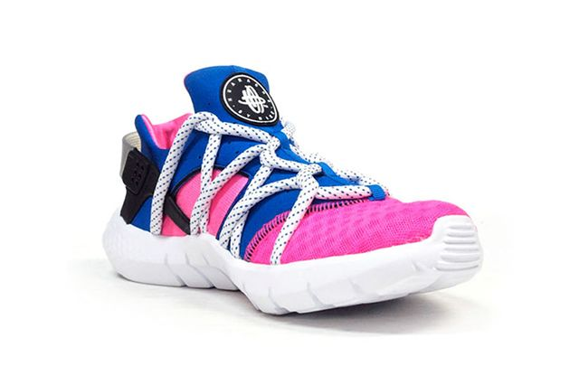 Nike Air Huarache Nm Royal Blue Pink Flash 3