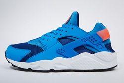 Nike Air Huarache Gym Blue Mango Thumb