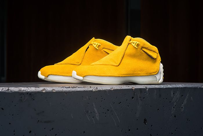 Air Jordan 18 Retro Premium Suede 2018 5