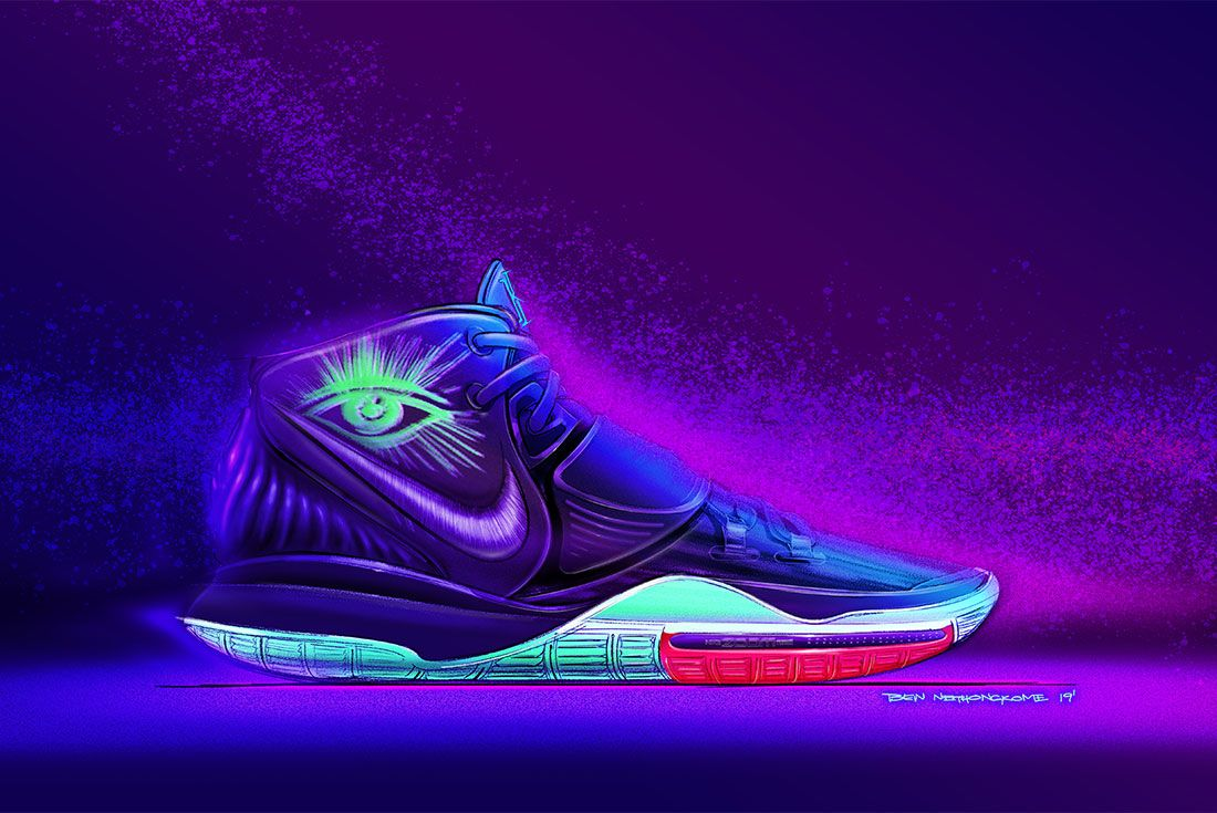 Nike Kyrie 6 Ben Sketches 2