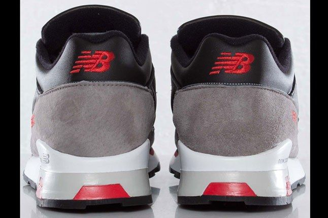 New Balance 1500 Black Red White Heels 1