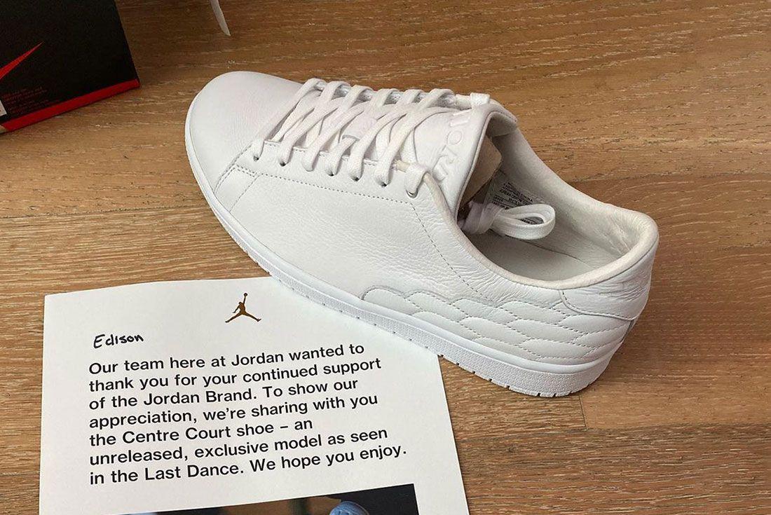 Edison Chen Jordan Brand Centre Court Unreleased Sample The Last Dance