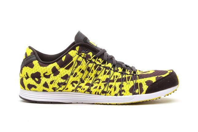 Nike Lunarspider R4 Sonic Yellow Leopard 2 1