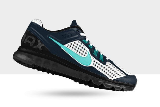 Nikeid Air Max Blue White Birds Profile 1