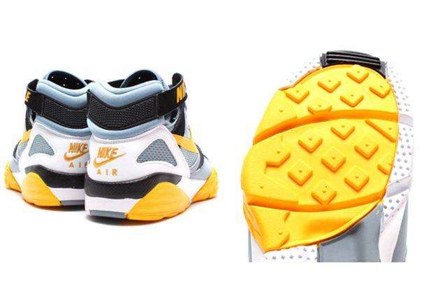 Nike Air Trainer Max 91 Stone Grey Yellow Black 4