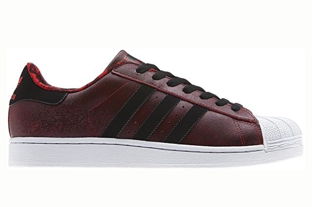 Adidas Originals Superstar Red Year Of The Horse Profile