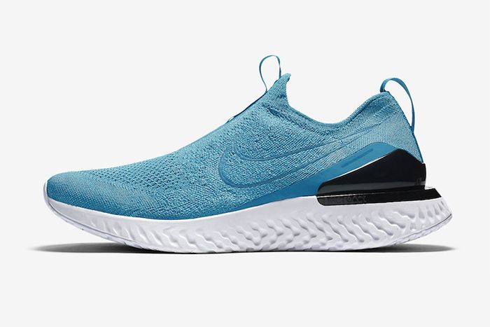 Nike Phantom React Flyknit Lake Blue Bv0417 400 Release Date Lateral