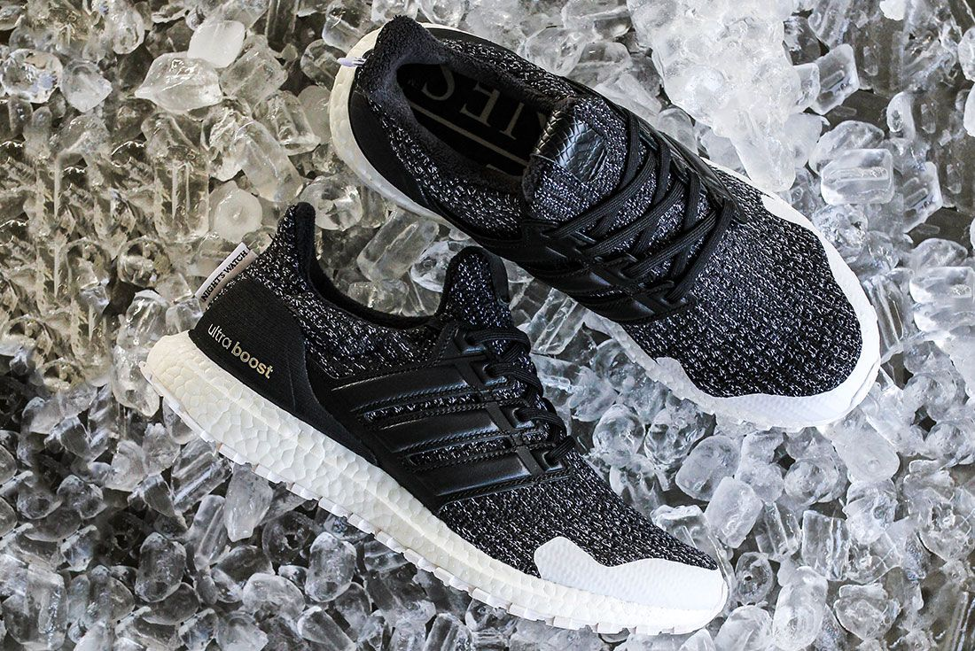 Game Of Thrones Ultra Boost Black Pair Side 10
