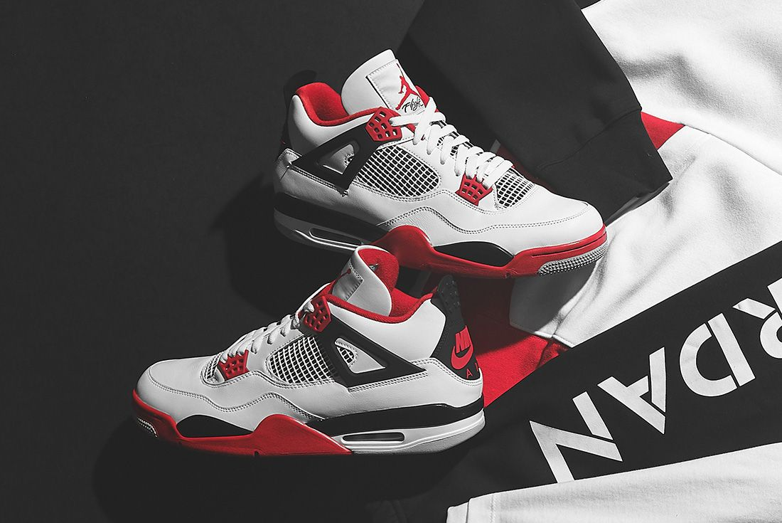 The Air Jordan 4 'Fire Red' Heats Up at JD Sports - Sneaker Freaker