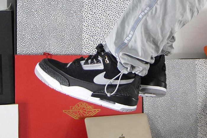 Air Jordan 3 Tinker Th Sp Black Cement Ck4348 007 Release Date First Look Hero