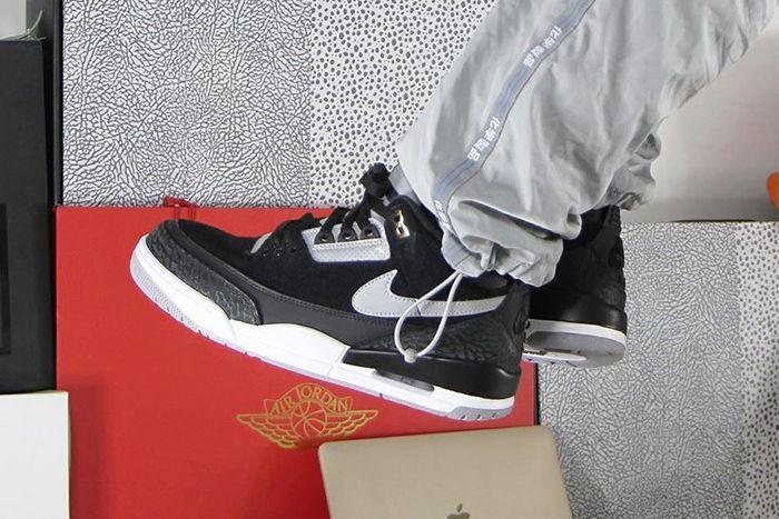 Air Jordan 3 Tinker Th Sp Black Cement Ck4348 007 Release Date First Look Hero