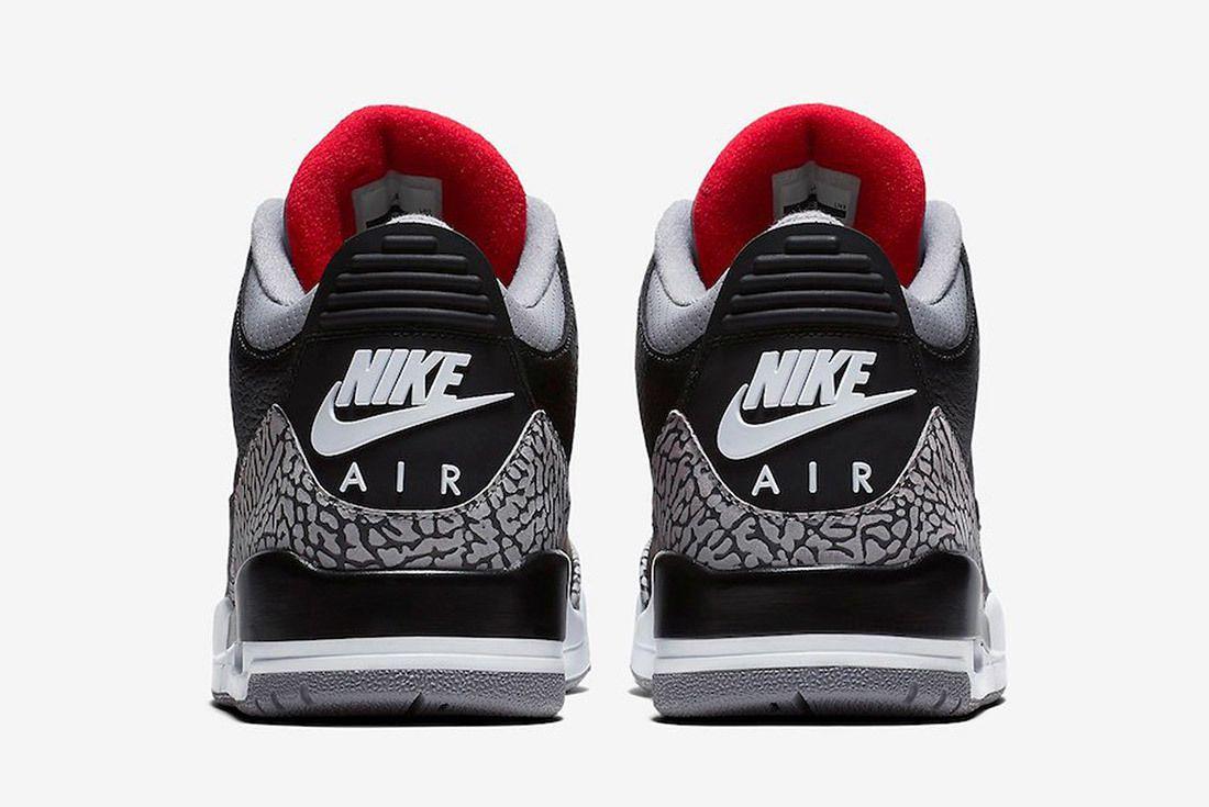 Air Jordan 3 Black Cement Australia 12