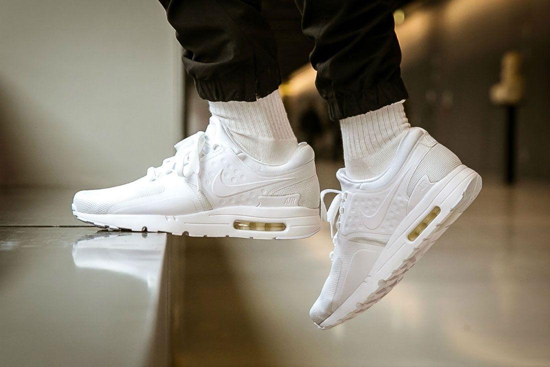 Nike Air Max Zero Triple White 2