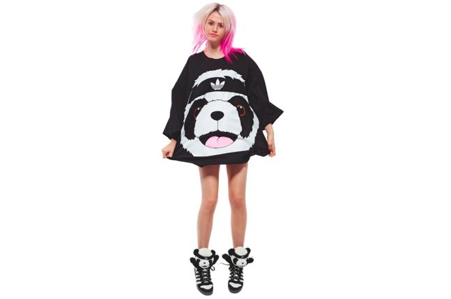 Jeremy Scott Adidas Panda T 1