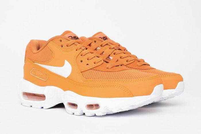 Patta X Nike Air Max 9095 Front Side Orange