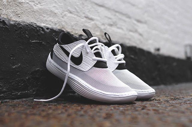 Nike Solarsoft Moccasin White Black 8