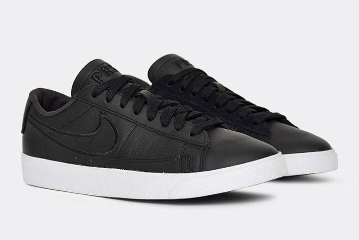 Nike Blazer Low Wmns Black Paris Fashion Week 3
