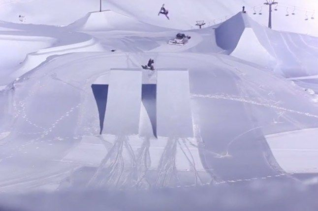 Nike Snowboarding Jumps 1