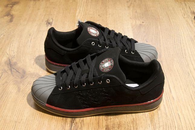 Adidas Superstar Black Suede 1