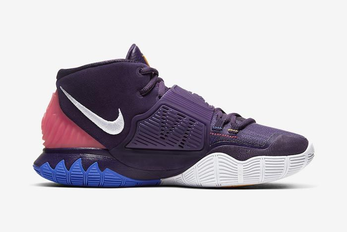 Nike Kyrie 6 Grand Purple Medial