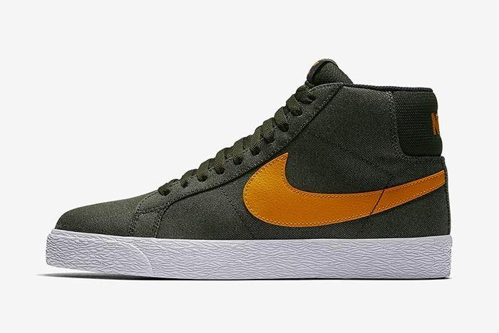 Nike Sb Blazer Sequoiacircuit Orange 1