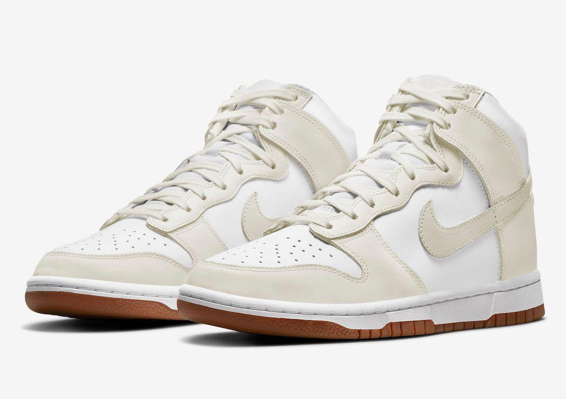 Nike Dunk High 'Sail Gum'