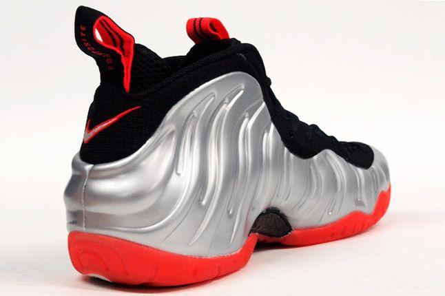 Nike Air Pro Foamposite Crimson Heel 1