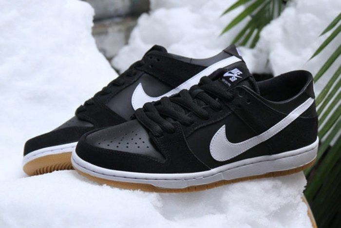 Nike Sb Dunk Low Black Gum2