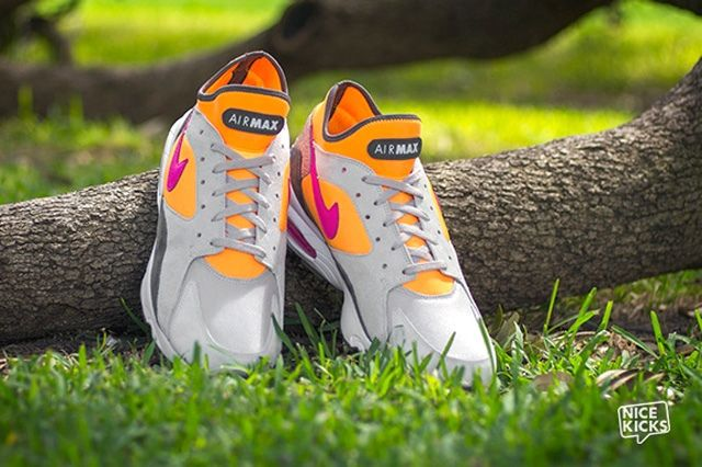 Size Nike Air Max 93 Mortar Flashpink 5