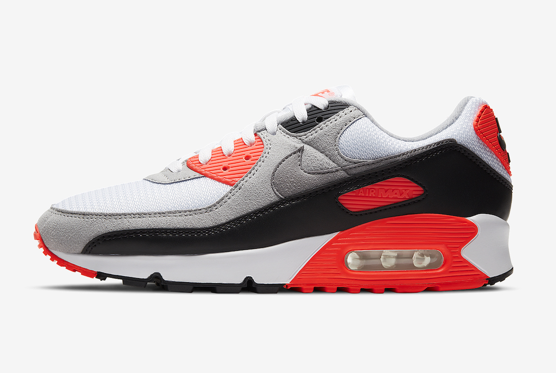 Nike Air Max 90 Infrared 2020 Radiant Red CT1685-100