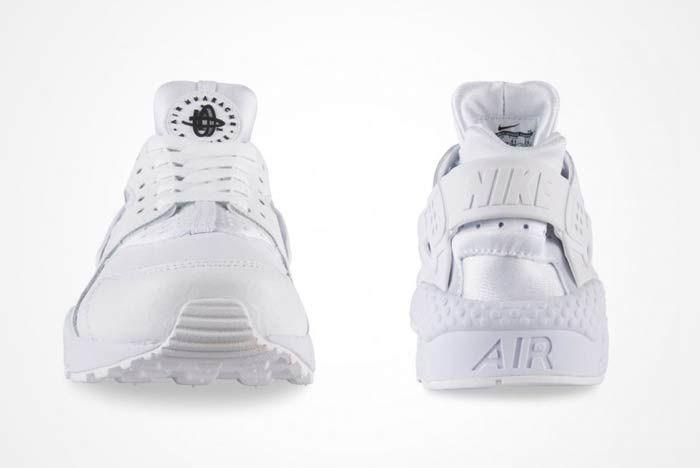 Nike Air Huarache Triple White 4