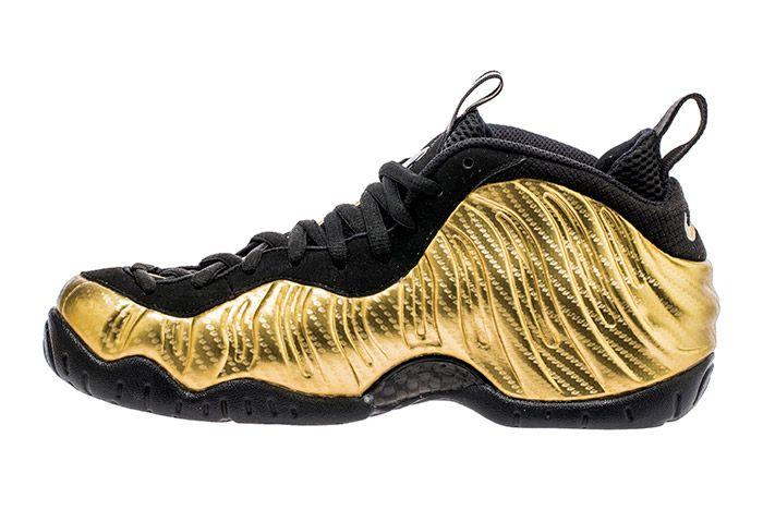Nike Air Foamposite Pro Metallic Gold5