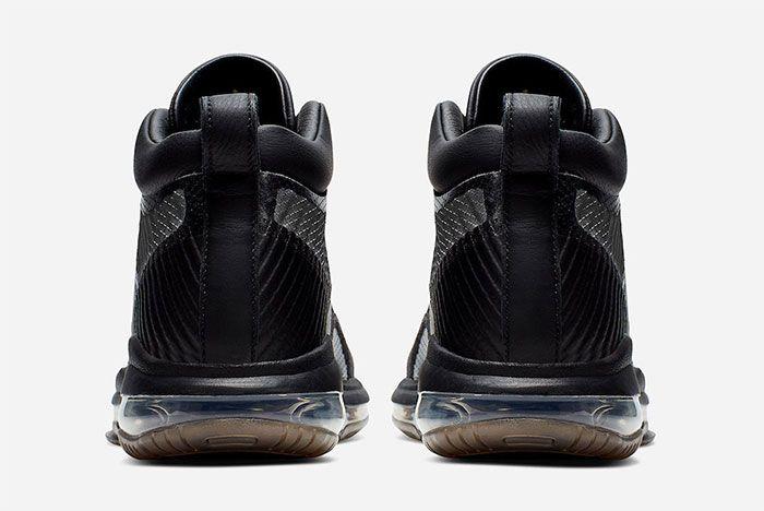 John Elliott Nike Le Bron Icon Black Heel