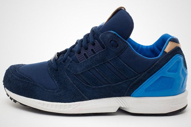 Adidas Zx 8000 Navy Blue Profile Outside 1