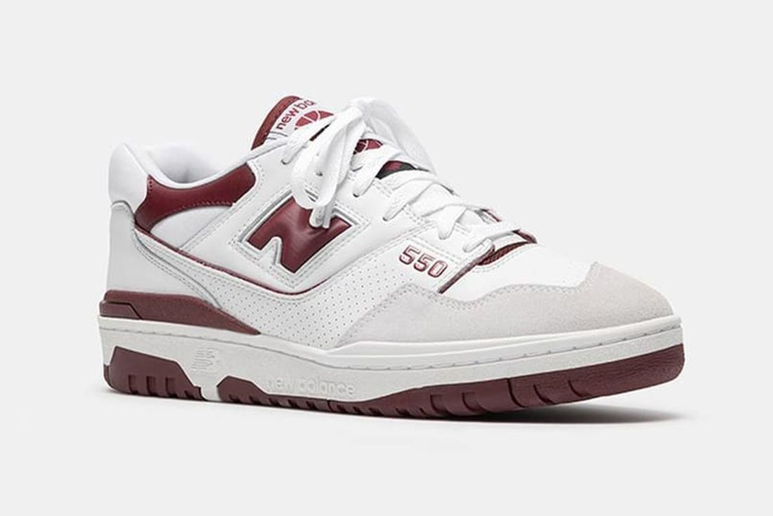 New Balance 550 'Burgundy'