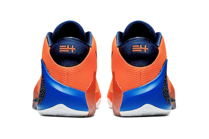 Nike Zoom Freak 1 Total Orange Bq5422 800 Release Date Heel