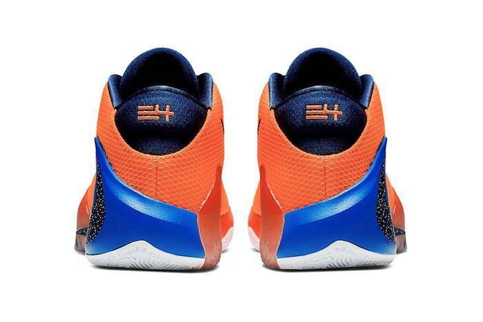 Nike Zoom Freak 1 Total Orange Bq5422 800 Release Date Heel