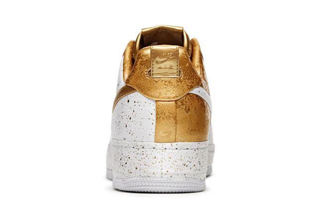 Nike Sportswear Af1 Xxx Gold Heel 1