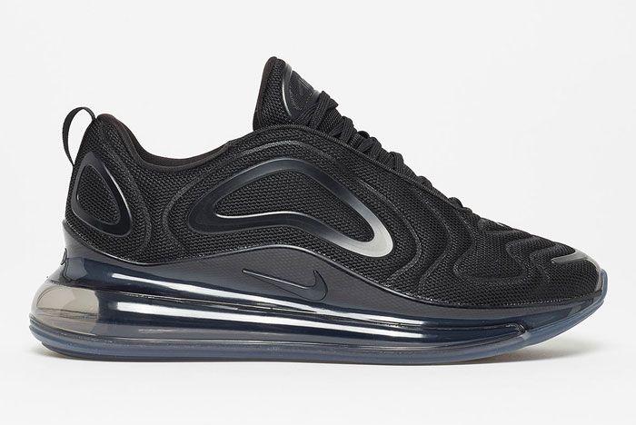 Nike Air Max 720 Triple Black Right