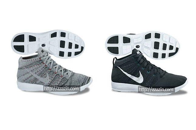 Nike Flyknit Chukka Black Grey 1