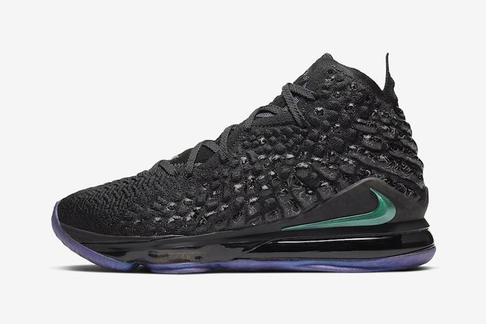 Nike Lebron 17 Currency Lateral