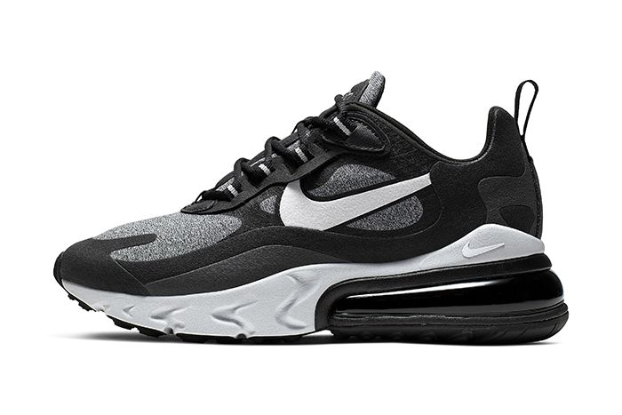 Nike Air Max 270 React Black Release Date Lateral