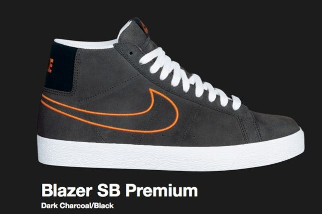 Nike Dark Charcoal Blazer Sb 2009 2