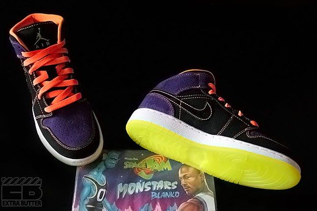 Air Jordan Spacejam Monstars 1