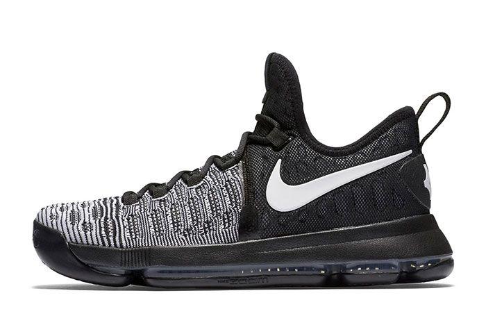 Nike Zom Kd 9 Blackwhite 3
