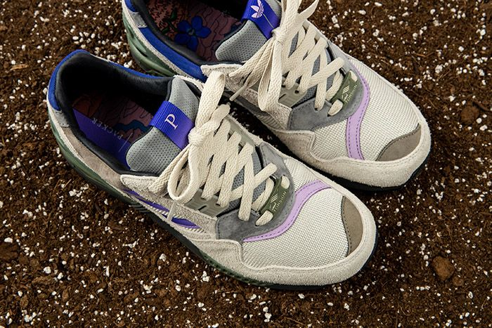 Packer Adidas Consortium Zx 9000 Violet Meadow Release Date Top Down