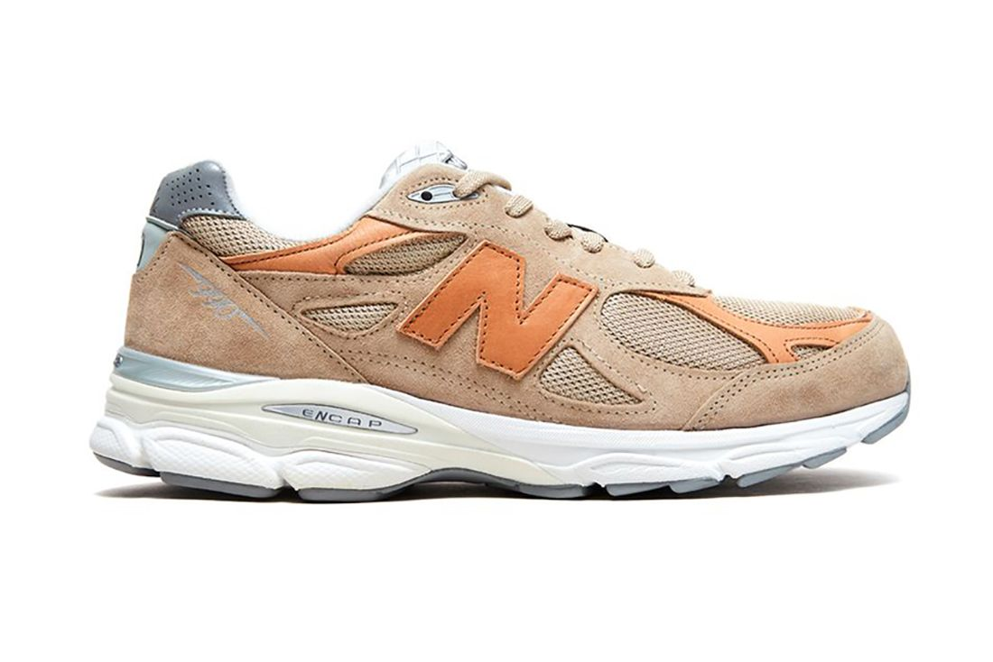 Todd Snyder New Balance 990V3 Dark Ale Lateral