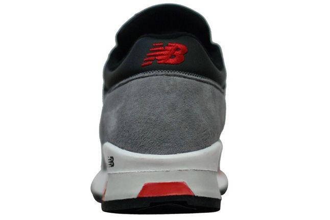 New Balance 1500 Grey Red Black Side Heel 1