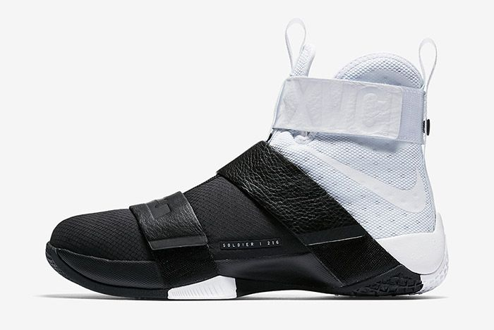 Nike Lebron Zoom Soldier 10 Pinnacle Black White 5
