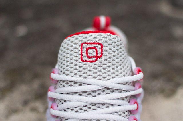 Nike Air Presto Grey Red Tongue